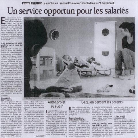 Dauphiné Libéré 05 11 2010.jpg